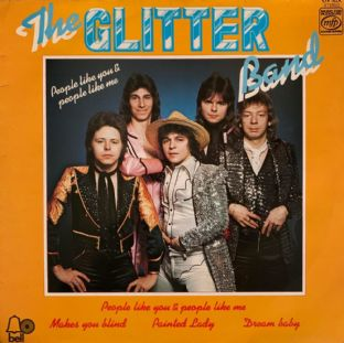 Glitter Band (The) - People Like You & People Like Me (LP) (G+/G+)